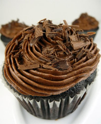 Cupcake de chocolate (Vídeo)