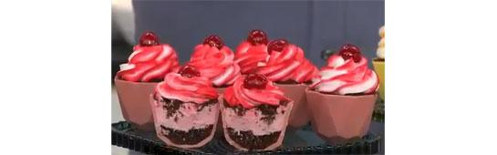 Cupcake de colher