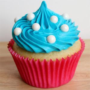Creme neutro de cupcake