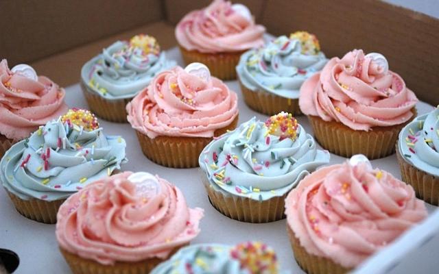 A voltinha do cupcake