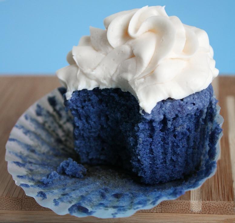 Cupcake Blue Velvet (Veludo Azul)