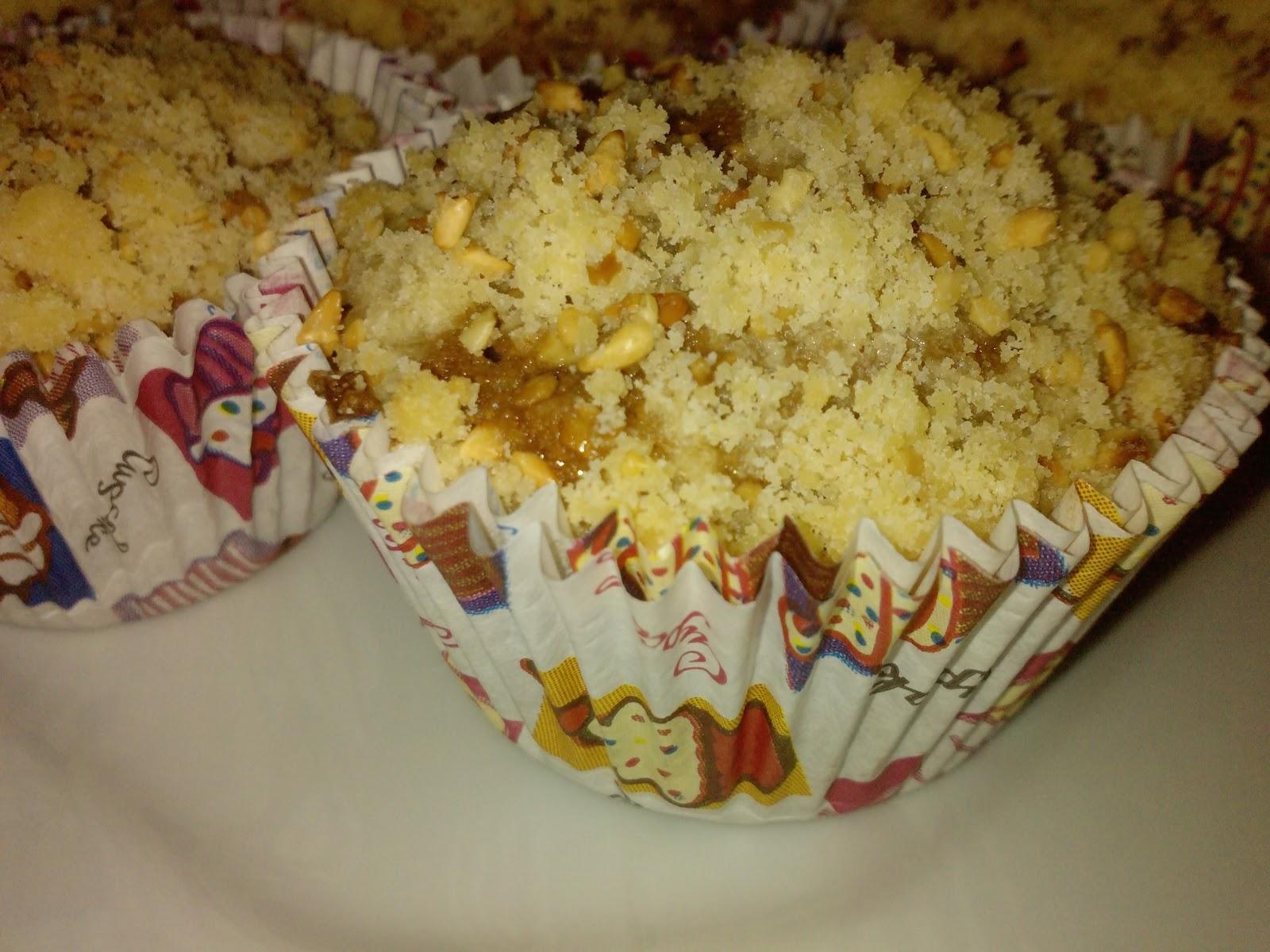 Cupcake Integral de Açúcar Mascavo
