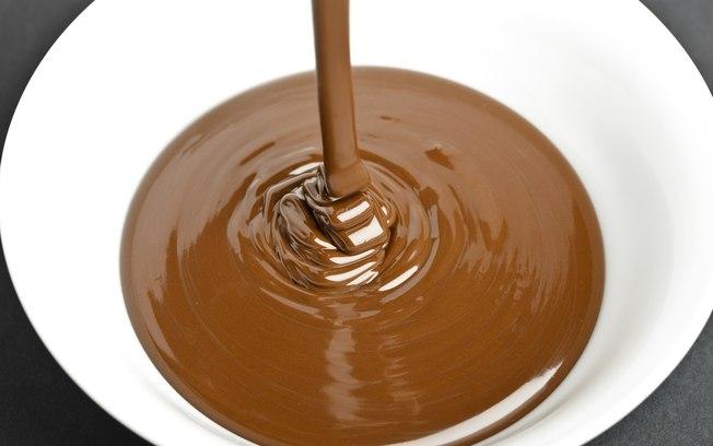 Ganache de Chocolate ao Leite