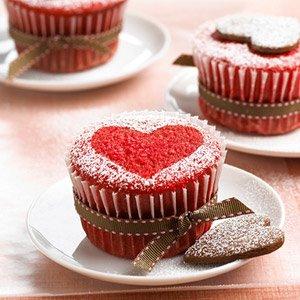 Cupcakes de Dia das Mães - Receita de Cupcake
