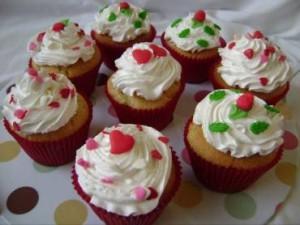 Cupcake com Geleia