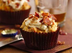 Cupcake de Bacon e Queijo