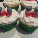 Cupcake de Chocotone